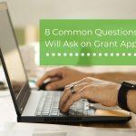 grant application questions