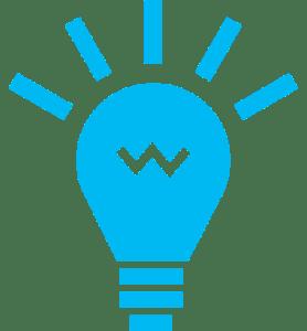 graphic lightbulb