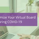 virtual board meetings covid-19